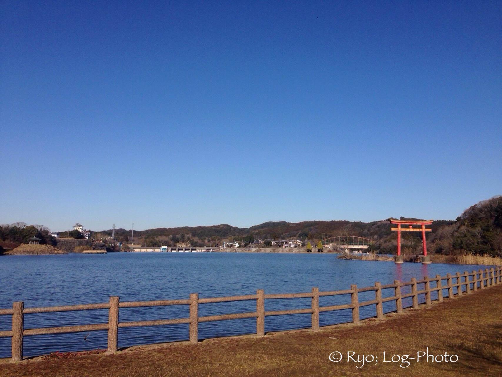 亀山湖 大山千枚田