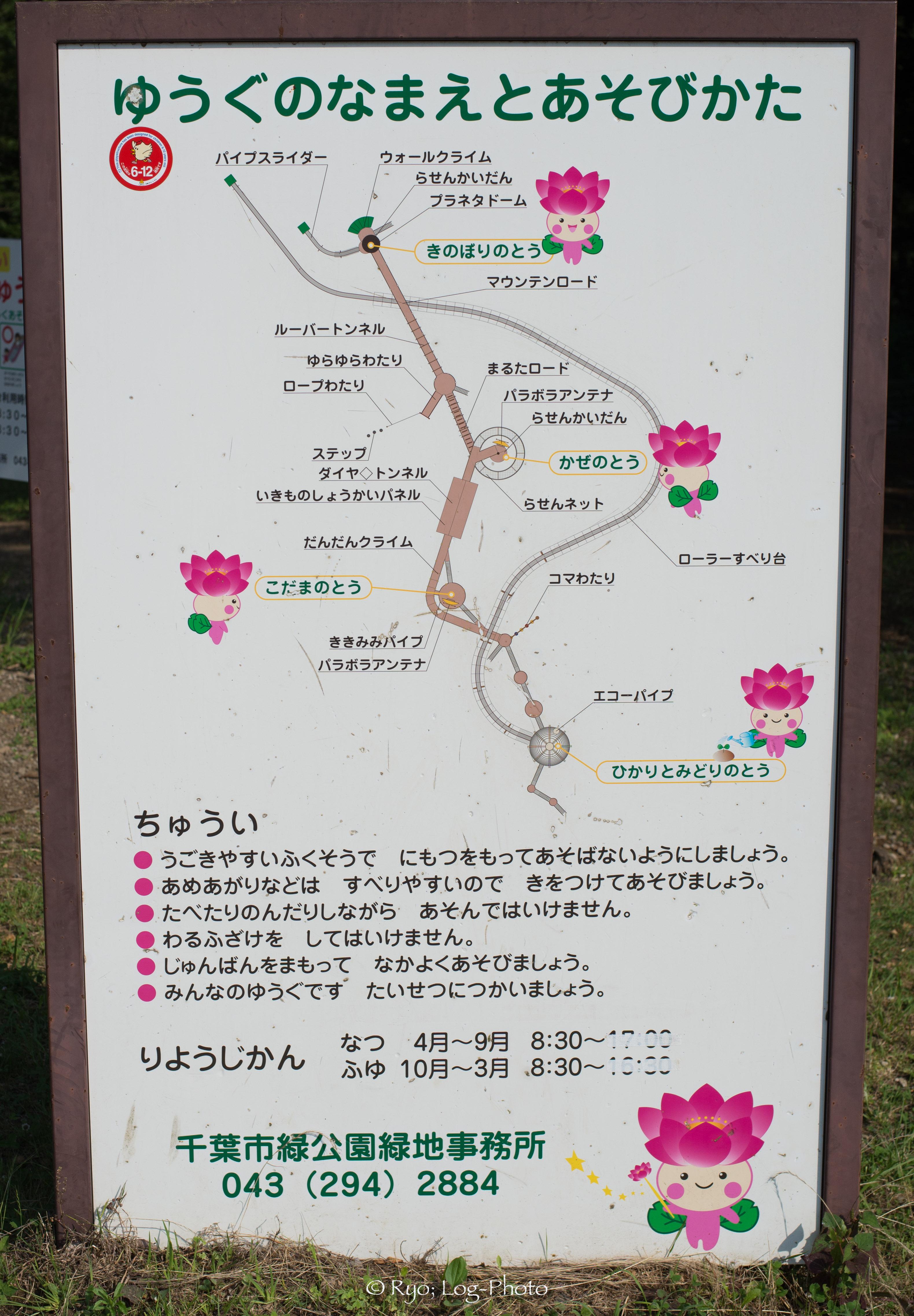 コースターマップ