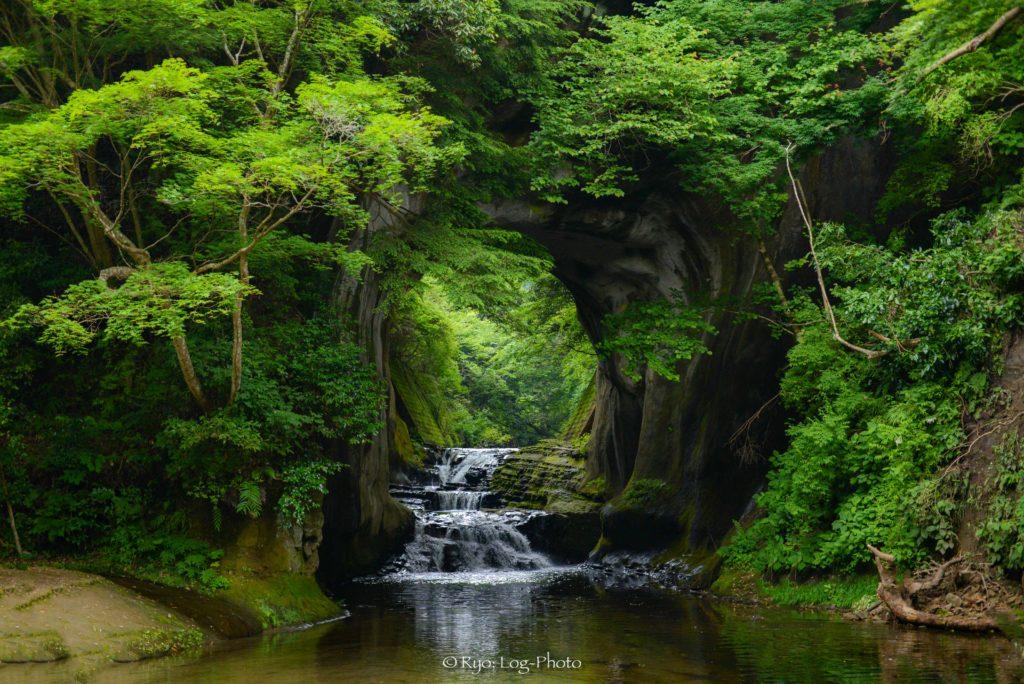 濃溝の滝 ジブリ 千葉 ハート濃溝の滝