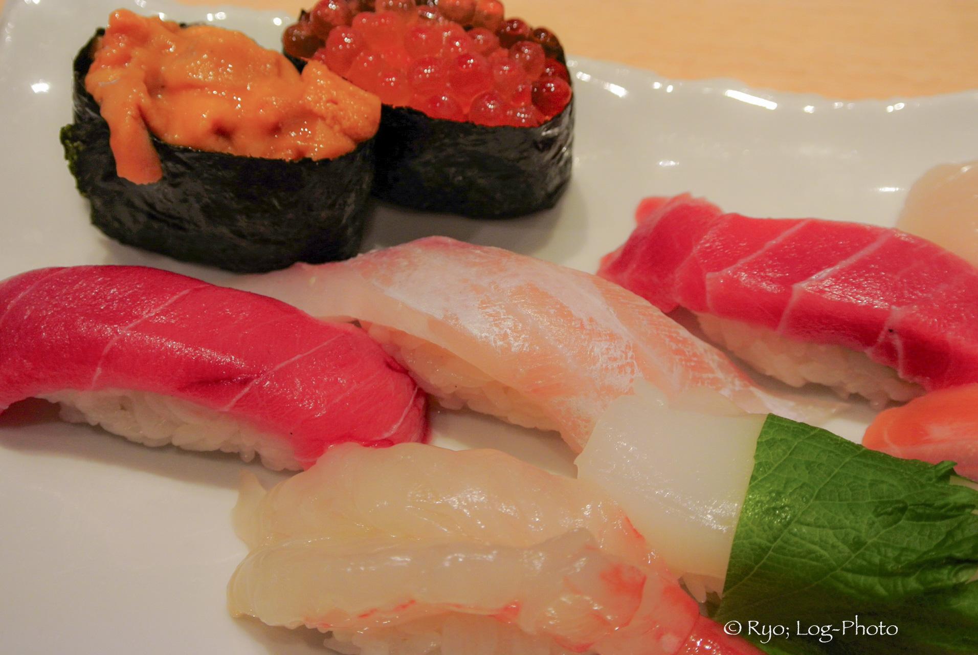 銀座で食べたお寿司