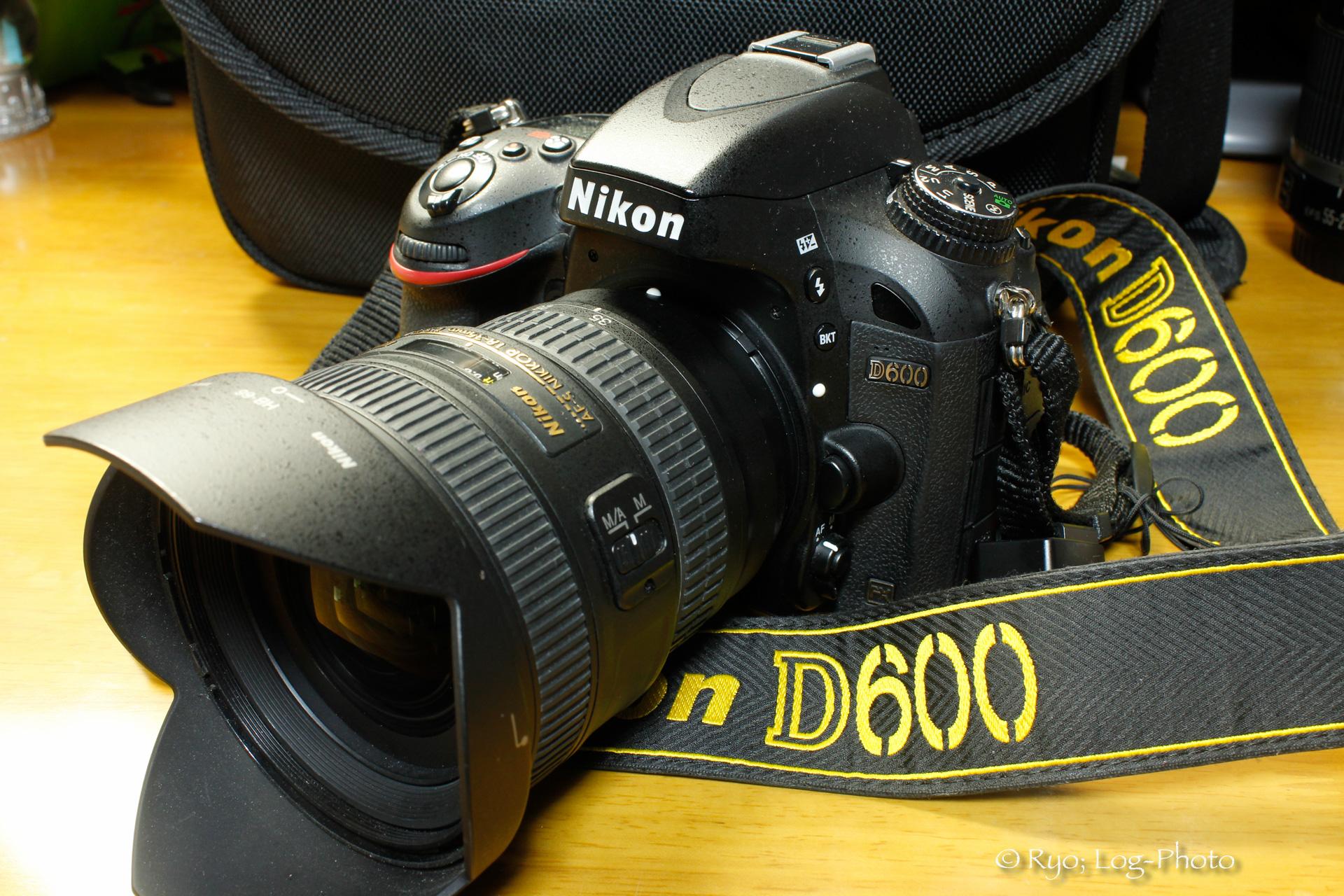 D600と18-35mm 1:3.5-4.5G
