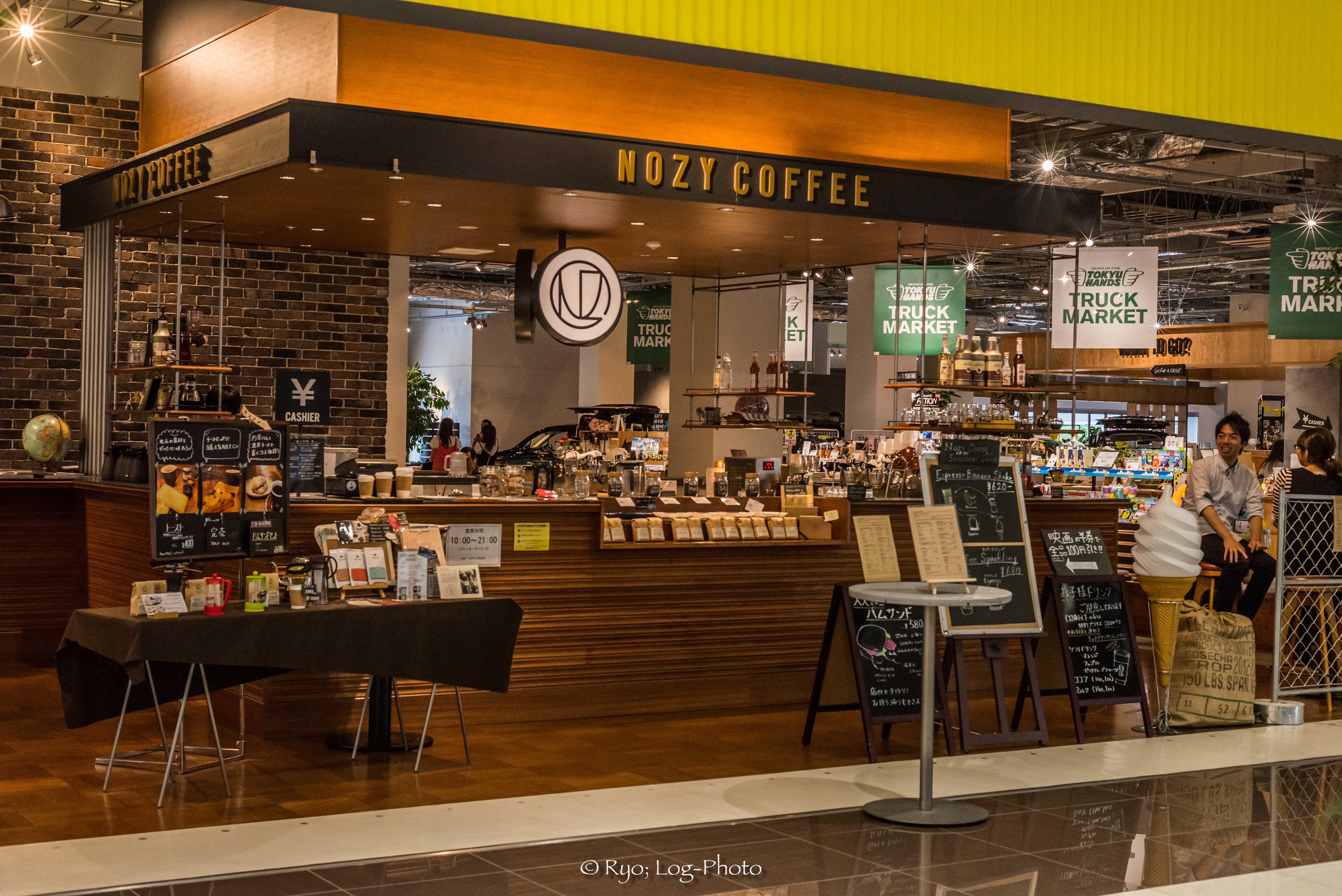 nozycoffeeノージーコーヒー木更津 雰囲気 カフェ