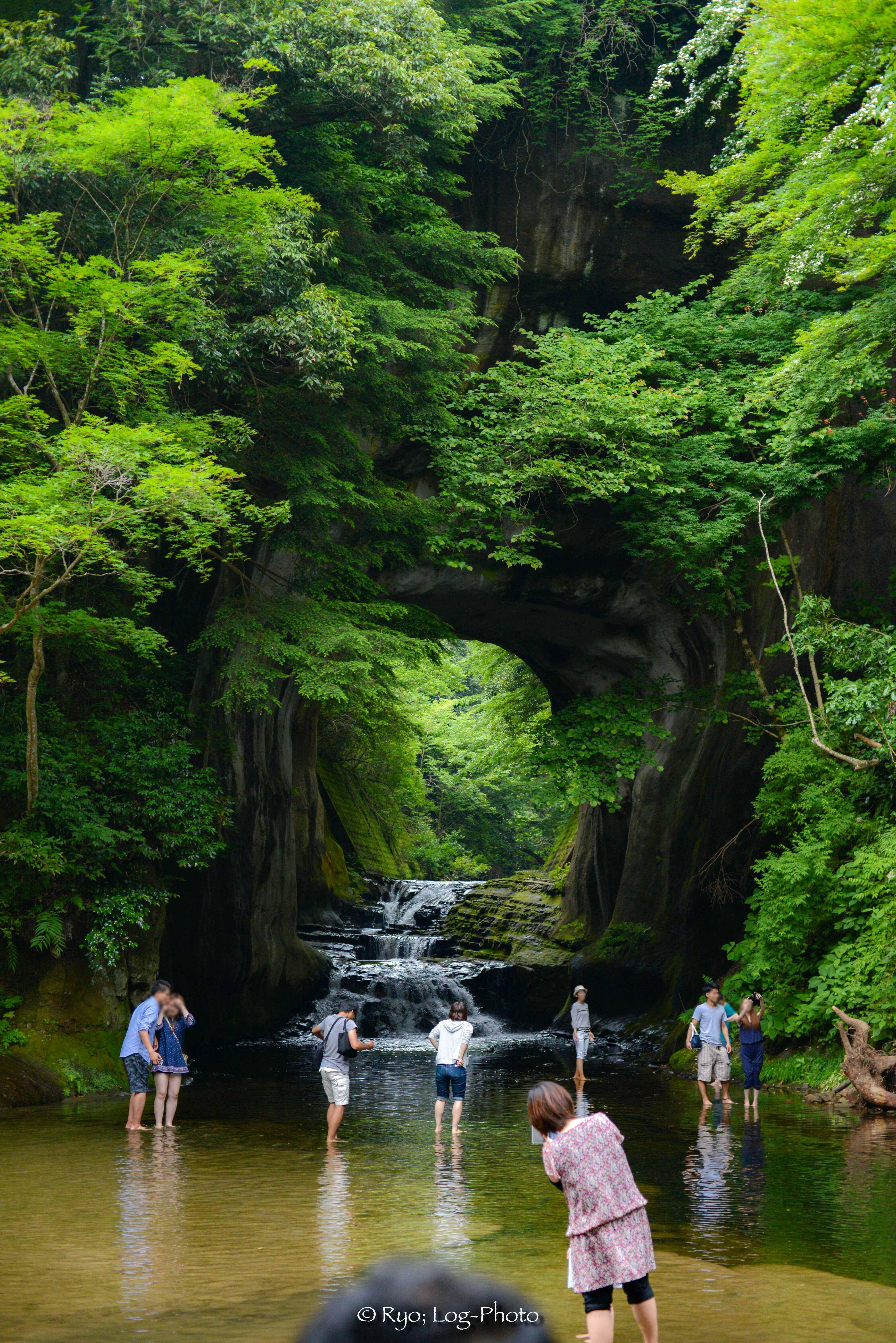 千葉,散歩,ホタル,濃溝の滝,滝,君津,秘境,神秘的,ジブリ,滝,もしツア