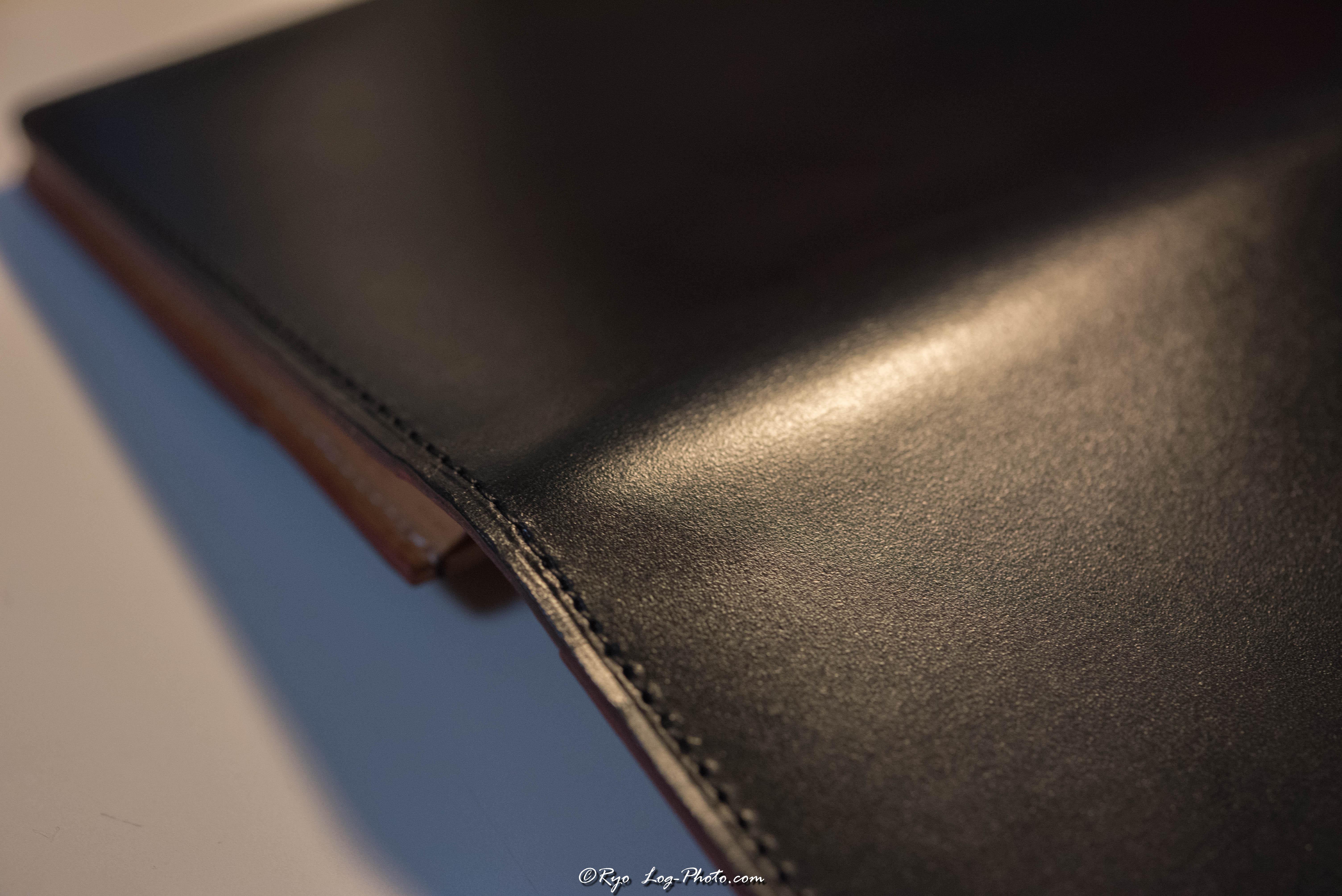 ganzo(ガンゾ)のブライドルレザー 財布手入れ