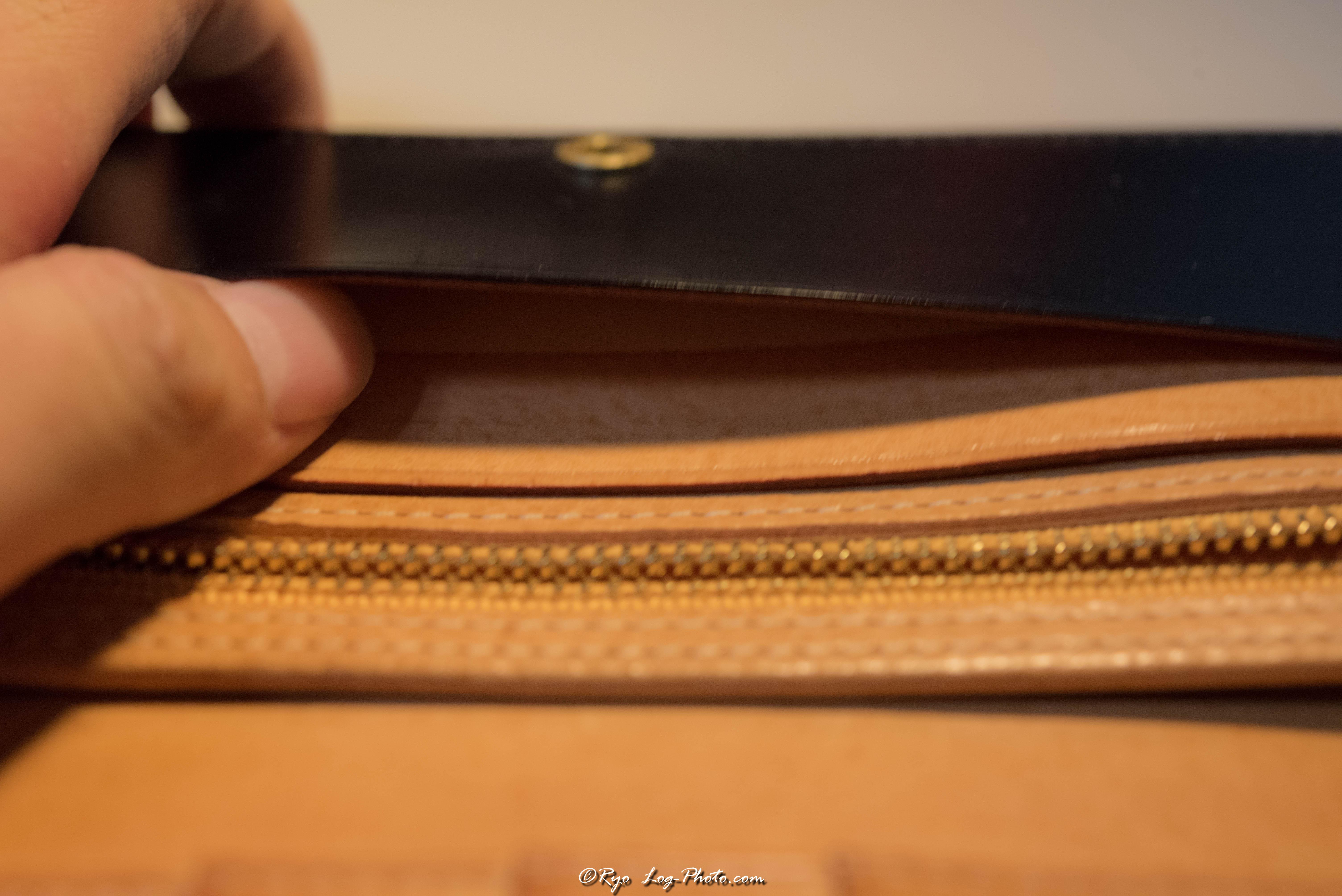 ganzo(ガンゾ)のブライドルレザー 財布 札入れ