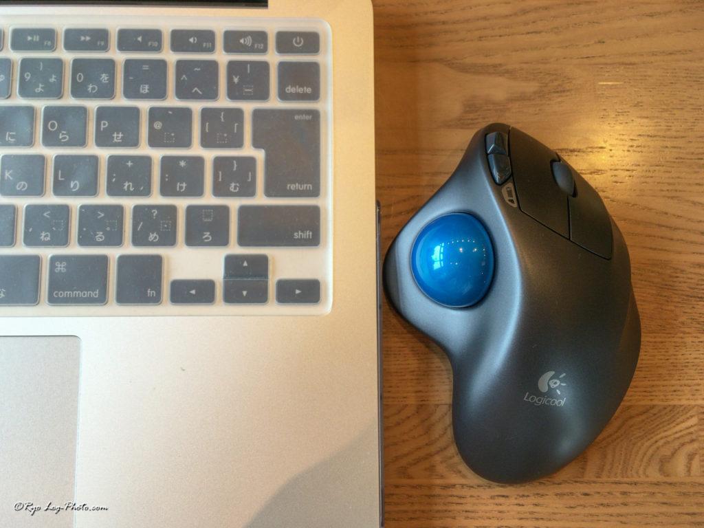 Macとトラックボール