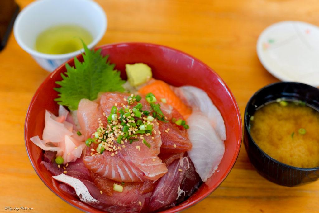 ばんや 漁師のまかない丼 海鮮丼