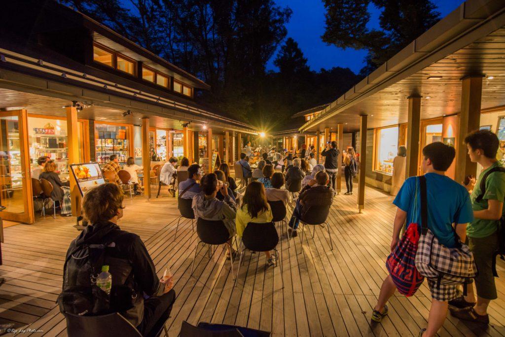 ハルニレテラス 夏夜の音楽祭