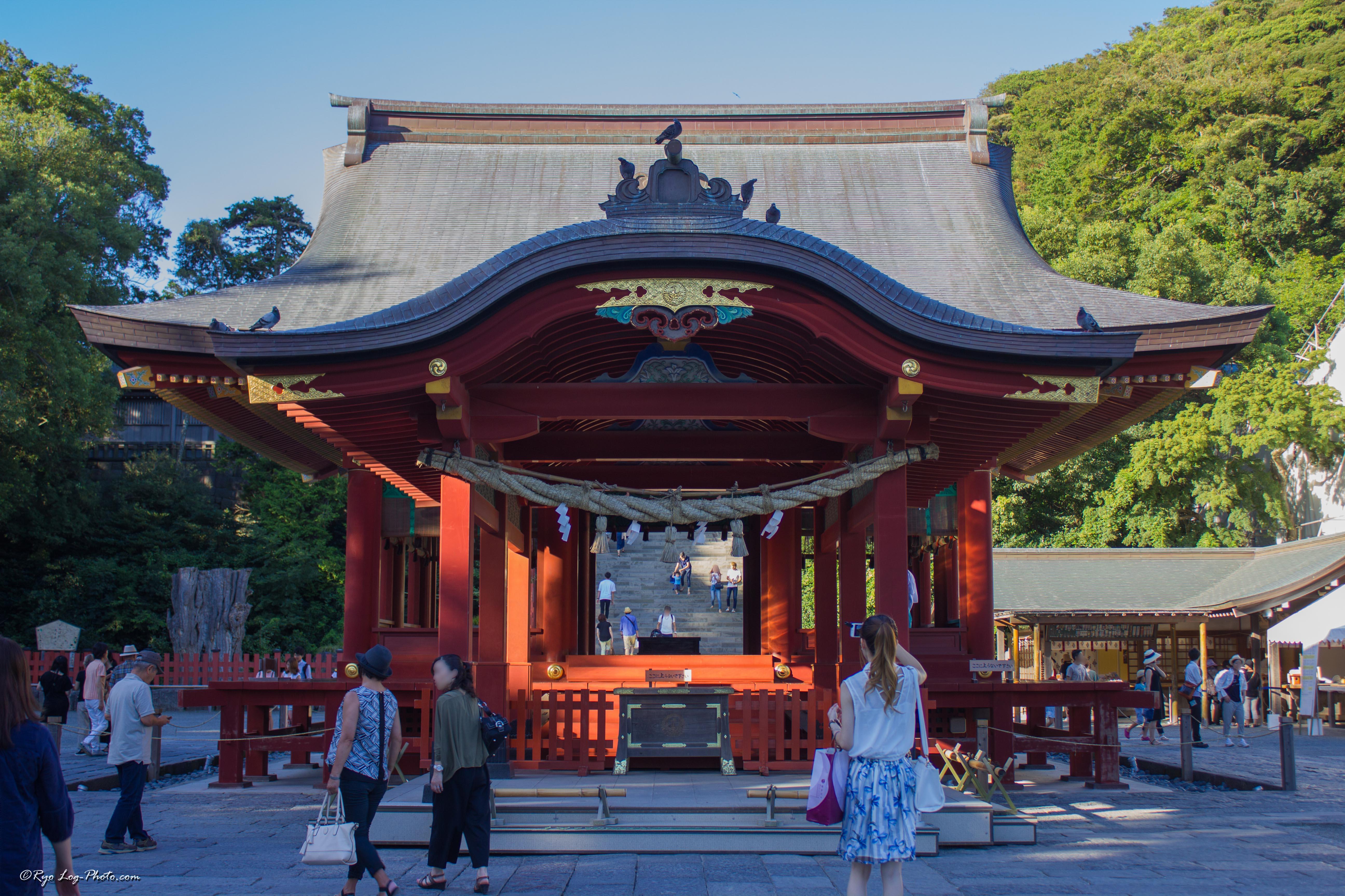 舞殿(まいでん) 鎌倉 鶴岡八幡宮