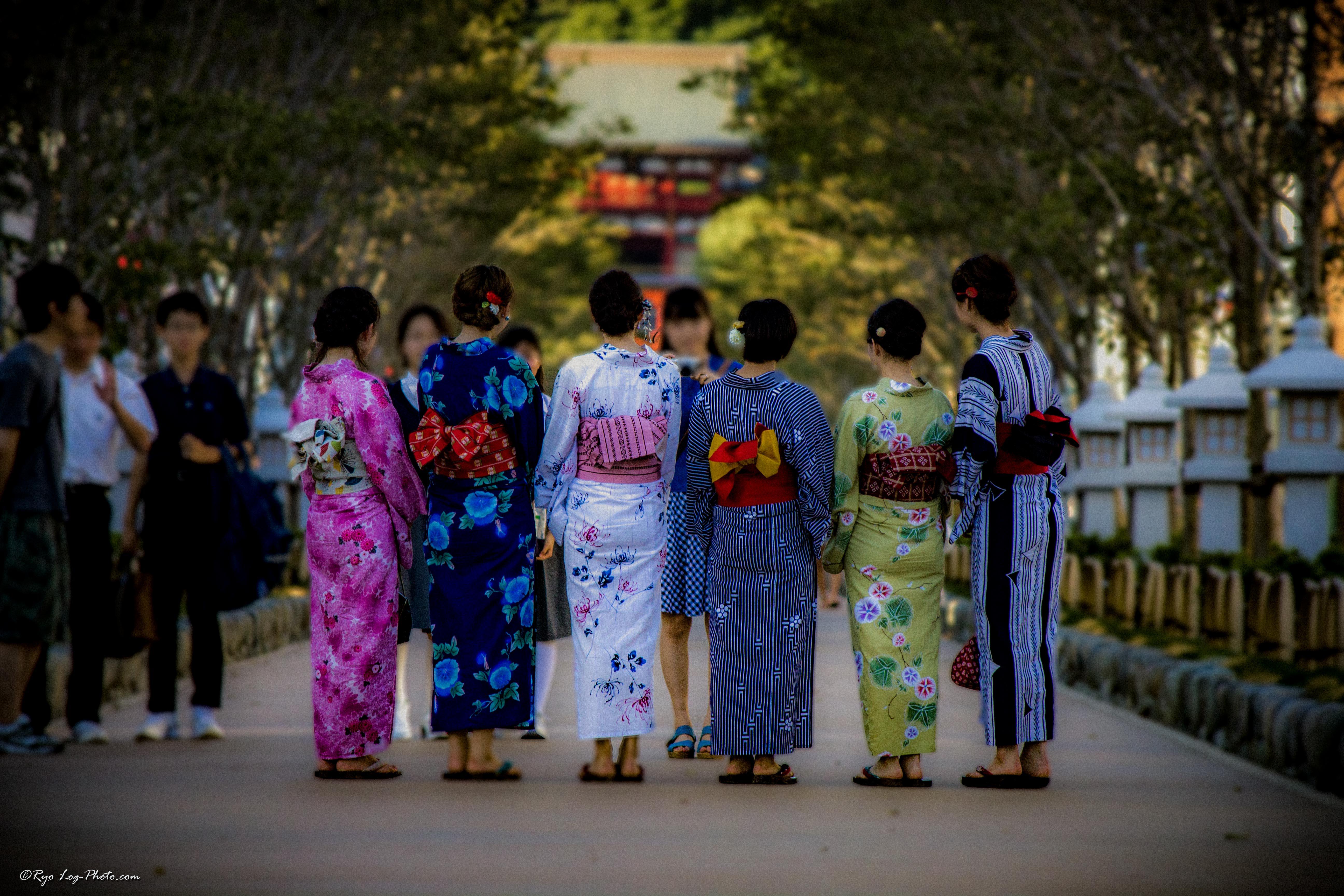 和装して鎌倉の街を歩けが気分も高まりそうです