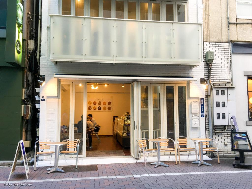 銀座ベーカリー 外装 穴場カフェ