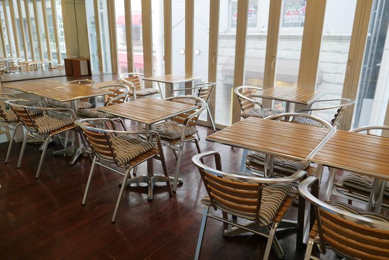 銀座ベーカリー 2階席 穴場カフェ
