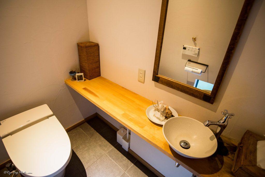 トイレは清潔感あり。田舎なので少し心配してましたが、水洗でした。