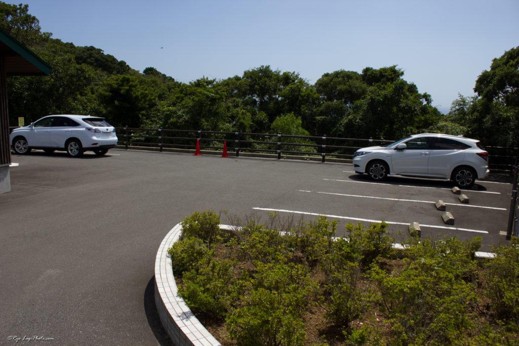 魚見塚展望台 駐車場