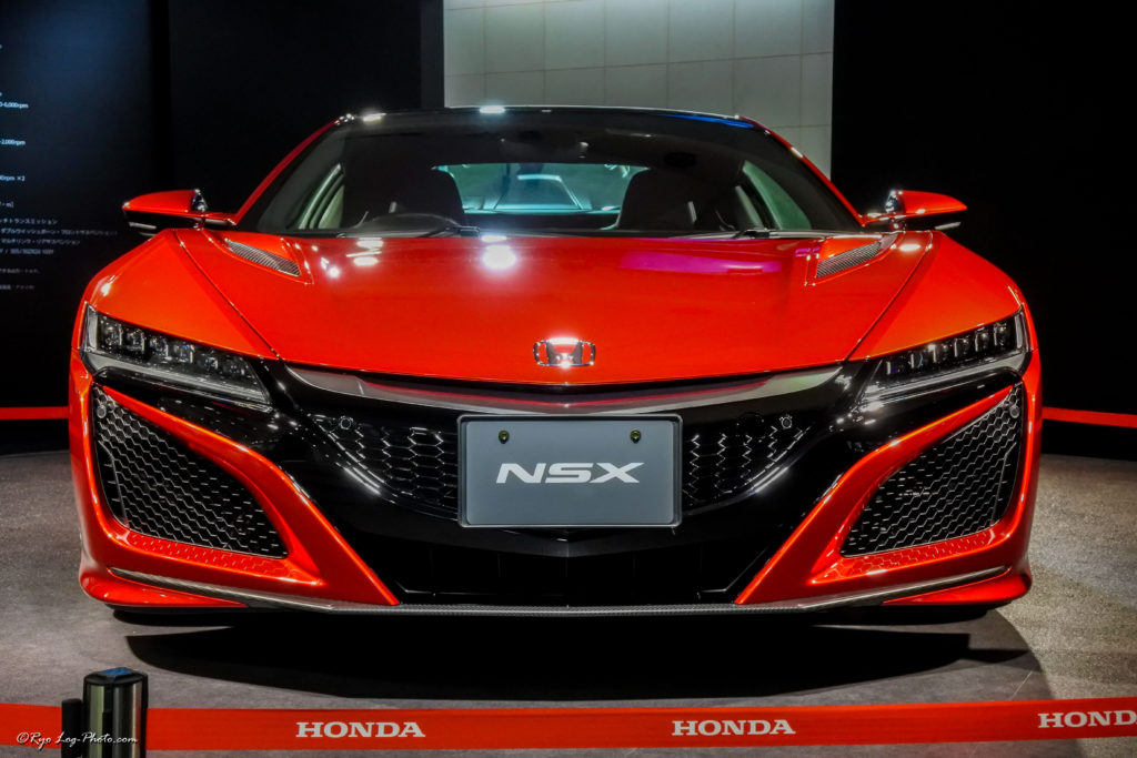 nsx ホンダ 展示 スーパーカー