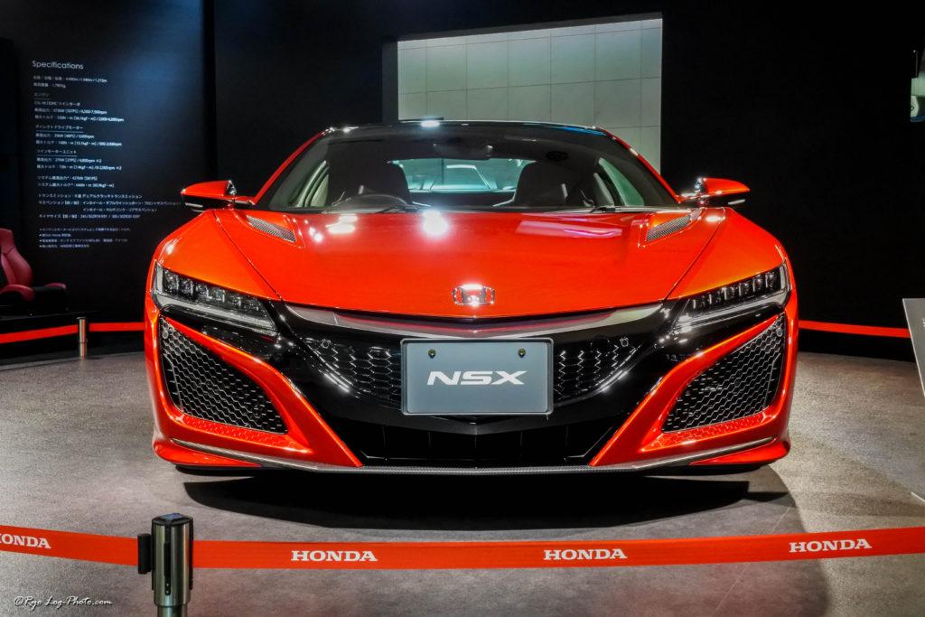 ホンダ 新型nsx 展示 フロント