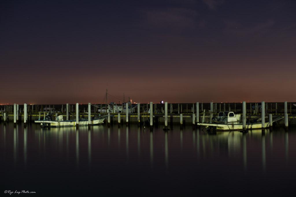 木更津 船 停泊 夜景