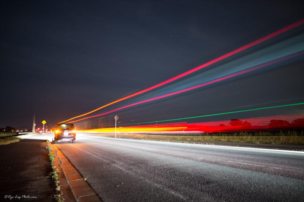光の軌跡写真 撮り方
