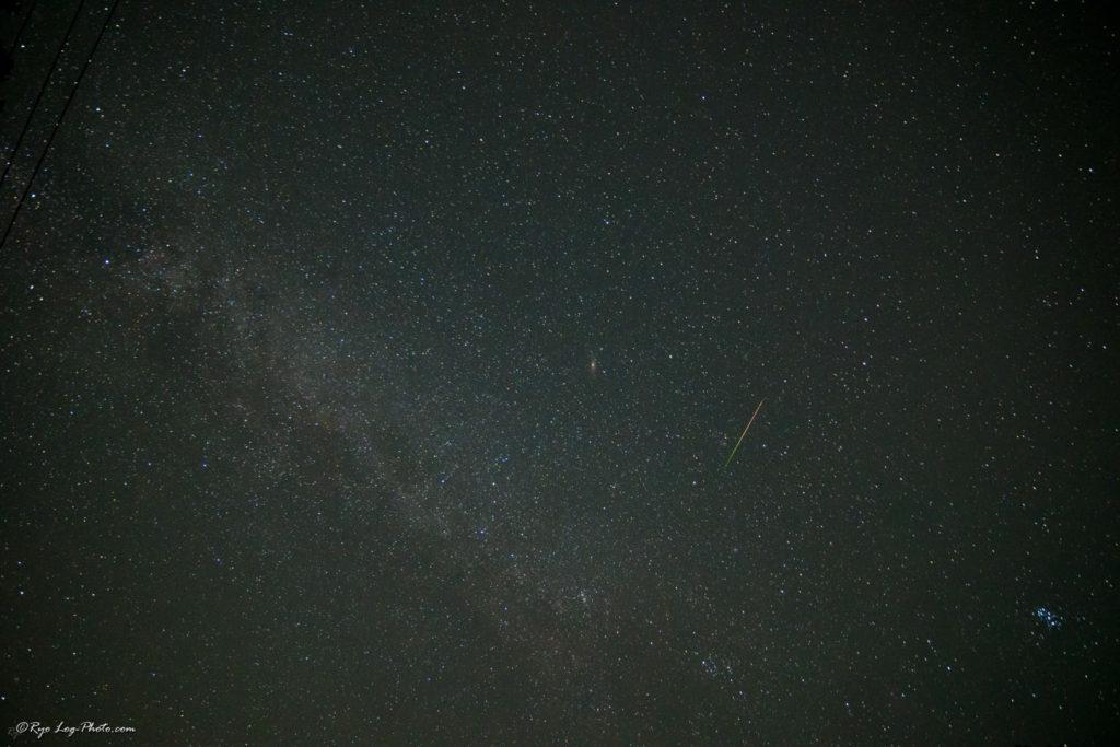 流れ星 流星群 撮影