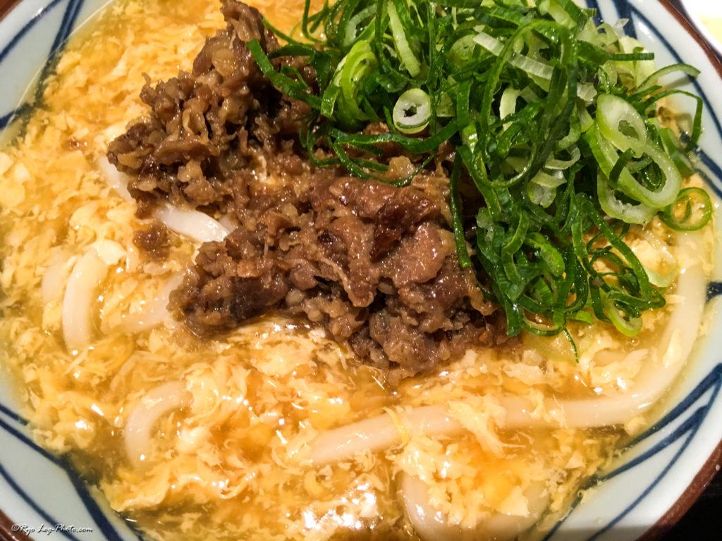 marugame 丸亀 肉たまあんかけ