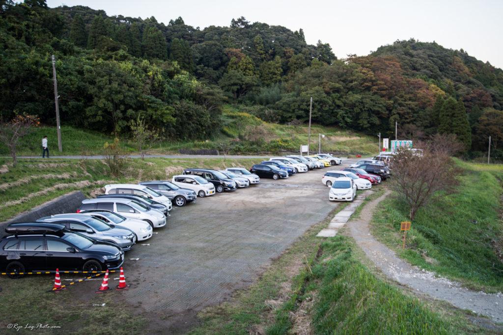大山千枚田 駐車場