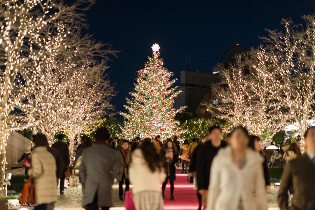 garden-place クリスマスイルミネーション
