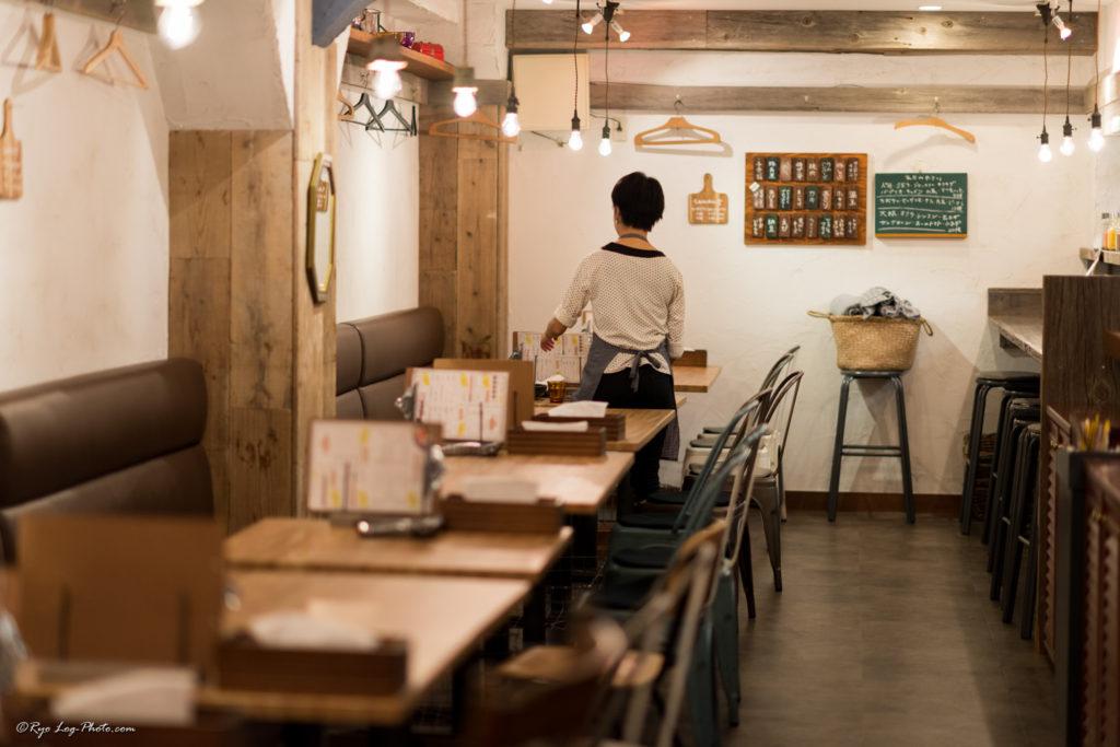 rojiura-curry-samurai 路地裏カリィ侍 吉祥寺 座席