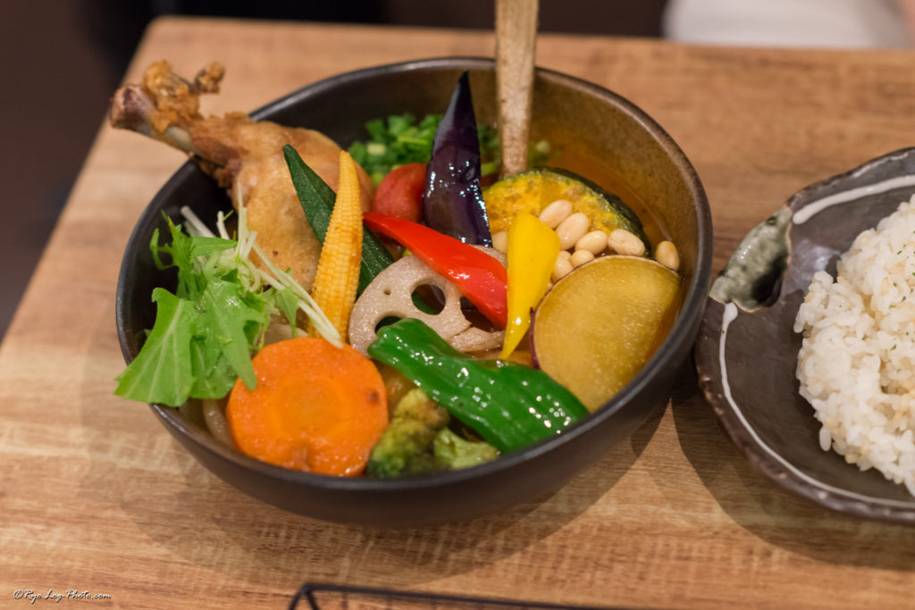 rojiura-curry-samurai 野菜 吉祥寺ランチ