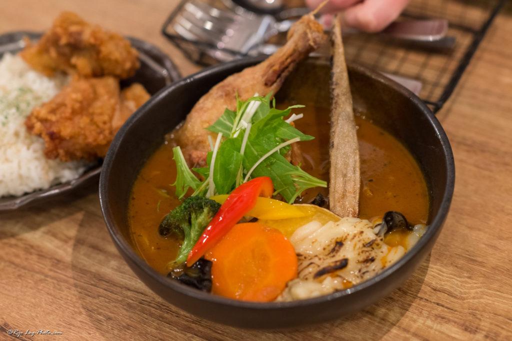 rojiura-curry-samurai チキン 吉祥寺ランチ