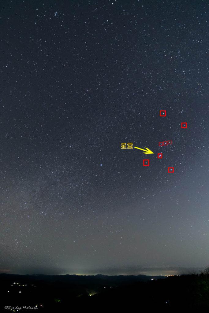 オリオン座星雲 千葉 赤道儀なし