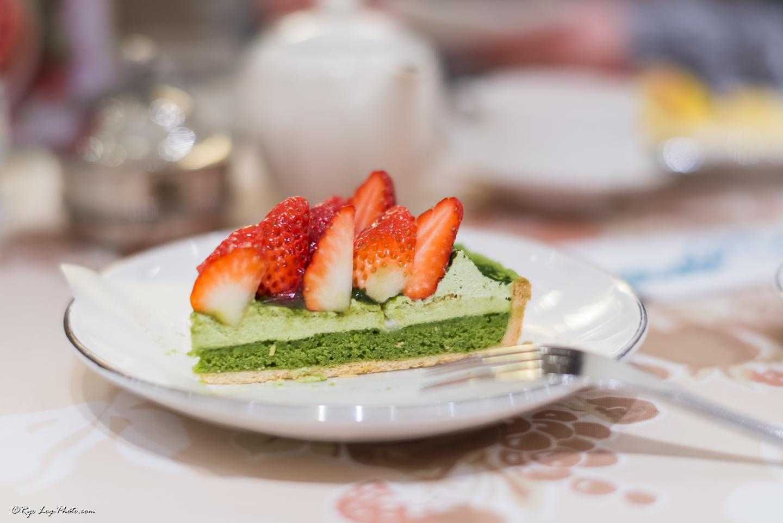 京都府産宇治抹茶とイチゴのタルト キルフェボン