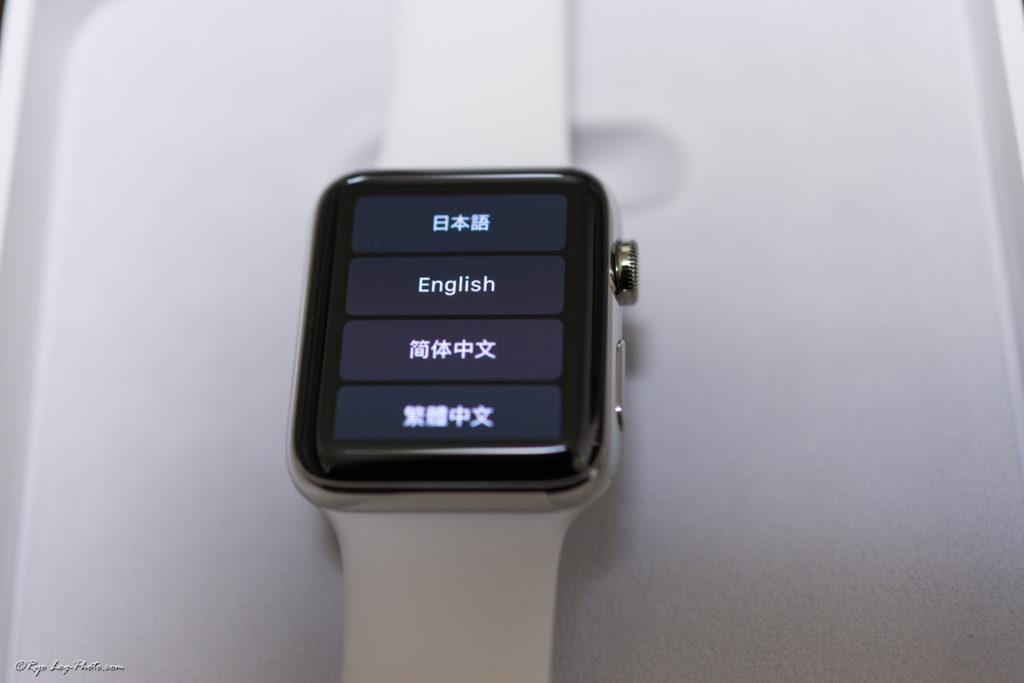 AppleWatch series2 ステンレススチール