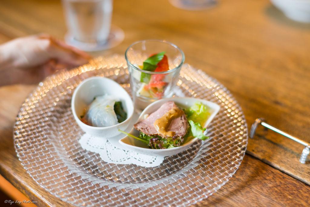mokichi 平日限定モキチランチコース 前菜