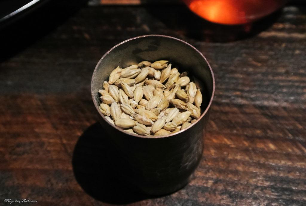 mokichi モキチ お通し 麦芽