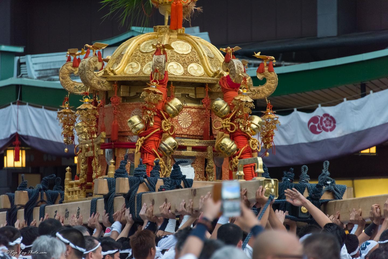 京都 kyoto gion 祇園祭 神幸祭