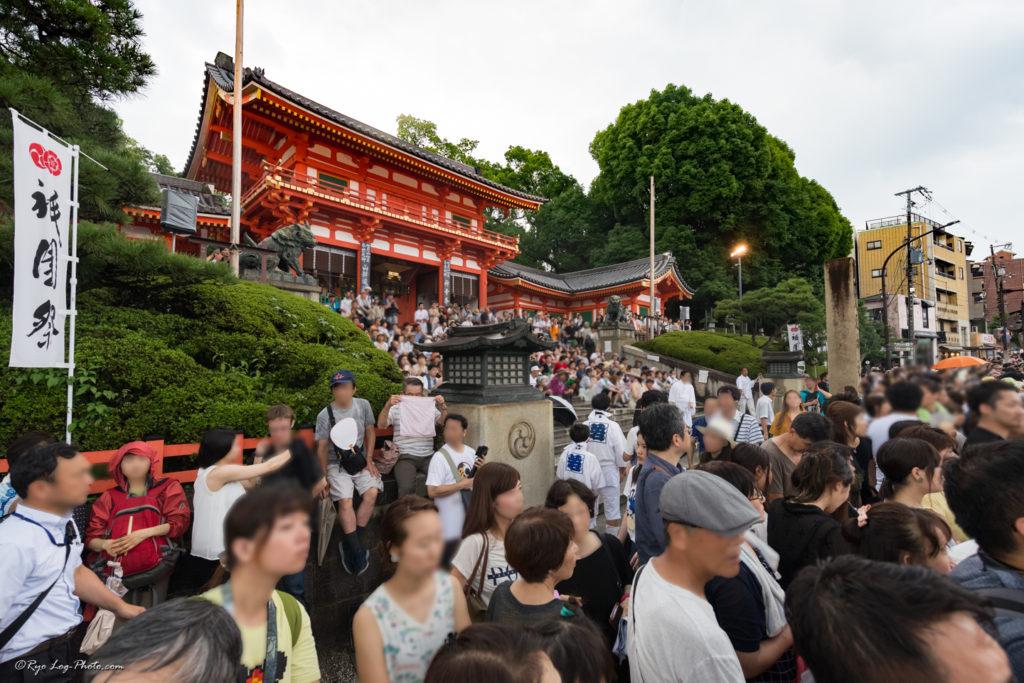 京都 kyoto gion 祇園祭 神幸祭 八坂神社