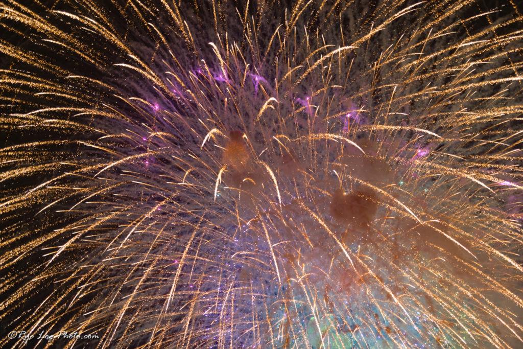 art_firework 短秒 打ち上げ花火
