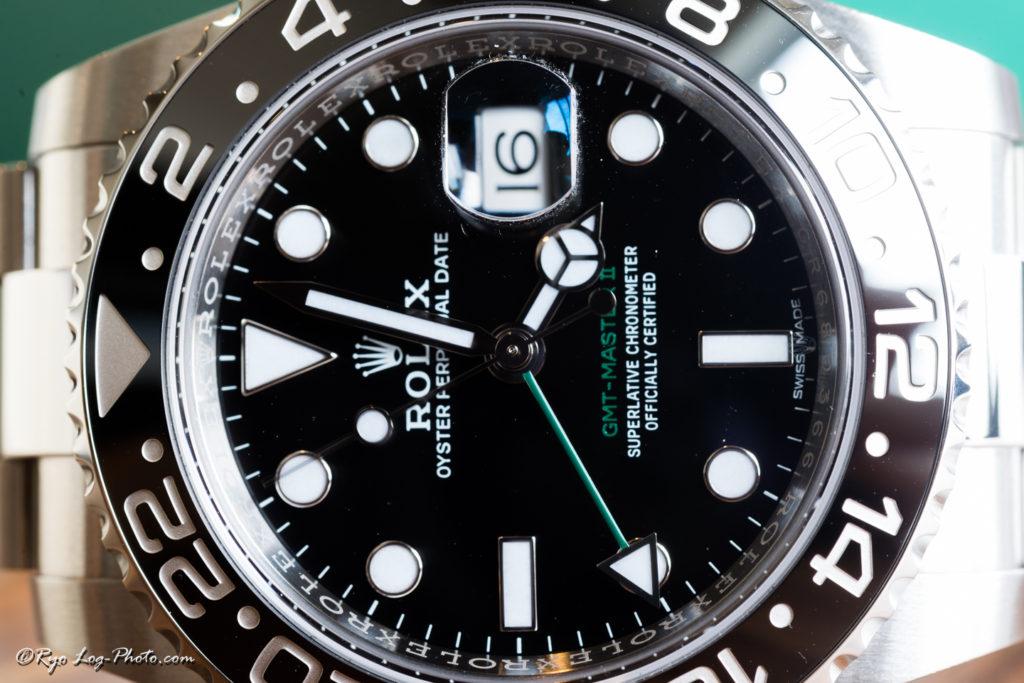 rolex 116710LN 緑針