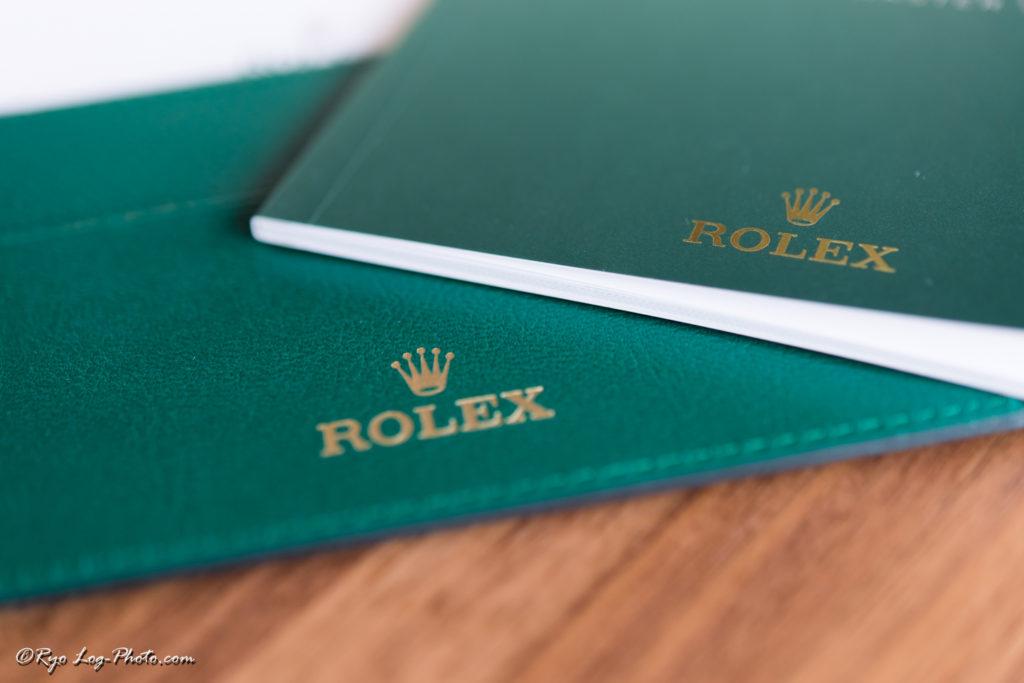 rolex 116710LN 説明書 保証書