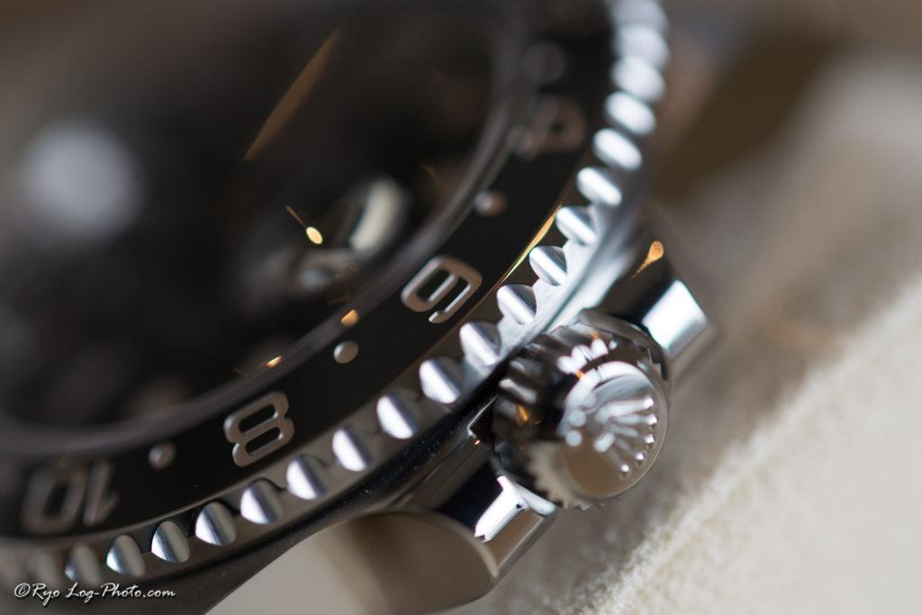rolex 116710LN GMTマスター2 ロレックス 時計 リューズ