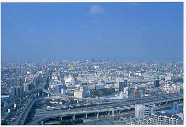 東大阪市役所 景色