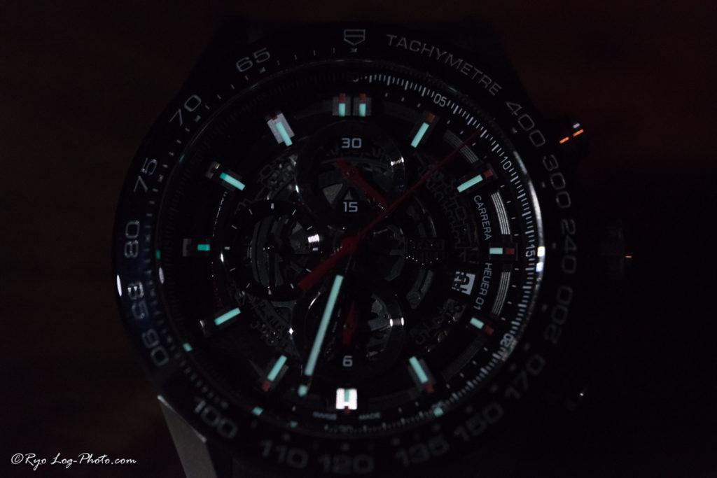 タグホイヤー カレラ CAR201V.BA0703 夜光