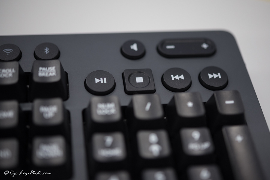 logicool G613 メディアコントロール