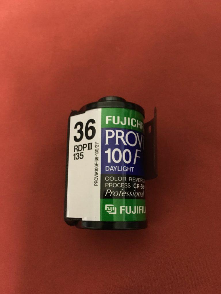 フィルムカメラ provia 100F