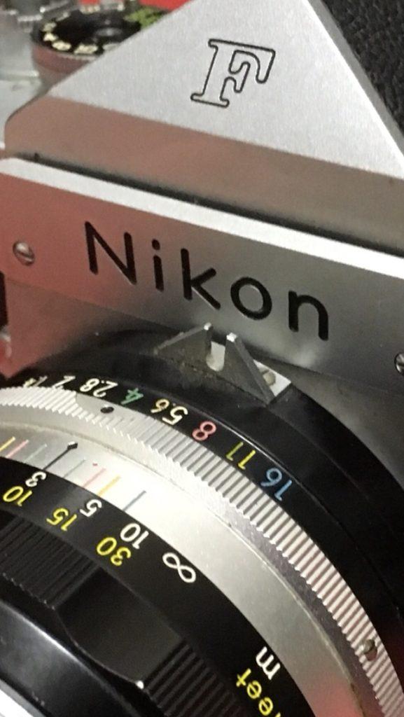 NIKKOR-S Auto 1:1.4 f=50mm カニ爪