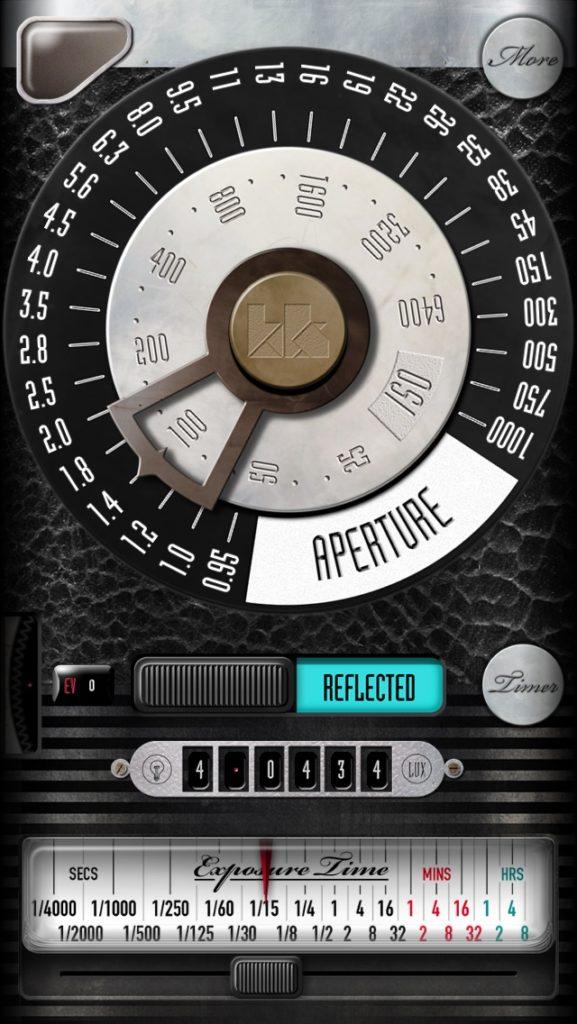 露出計 アプリ 測光 fotometerPro