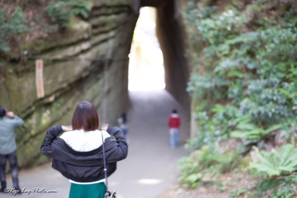 千葉県 トンネル ドライブ 燈籠坂大師 切通し