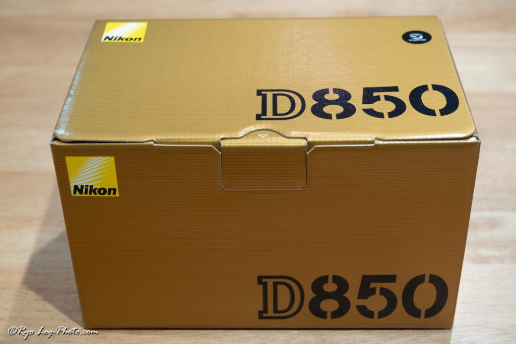 nikon D850 Review 箱
