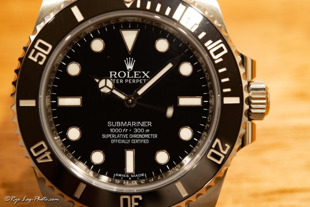 rolex 114060 サブマリーナ ノンデイト