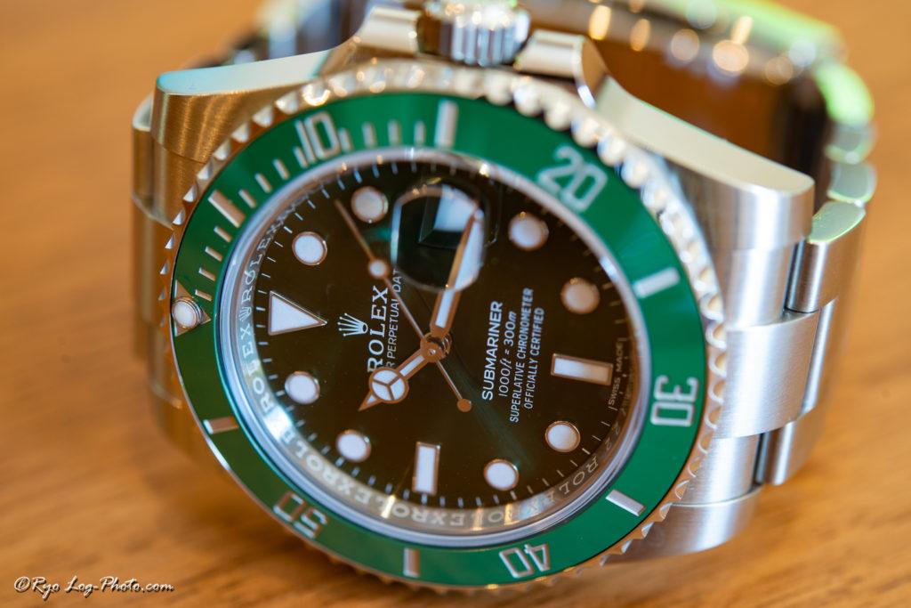 rolex 116610LV グリーンサブ サブマリーナ